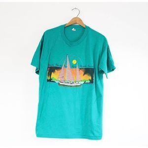 Vintage Florida Sailing T Shirt